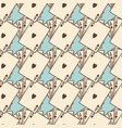 vintage cards seamless pattern vector image