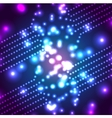 glowing micro cosmos background Eps10 vector image