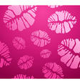 lipstick Kiss shape pattern vector image