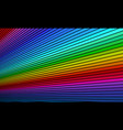 rainbow bright background vector image vector image