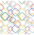 Seamless pattern with colorful squares vector image