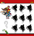 shadow differences activity vector image vector image