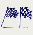 Waving flag vector image vector image