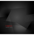 Abstract black shapes background vector image