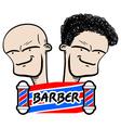 Barber symbol vector image vector image