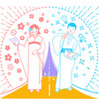 important moment in life japan vector image vector image