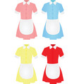 maid uniform vector image vector image