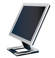 Monitor - screen vector image vector image