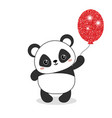 panda bear panda bear vector image