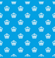premium quality label pattern seamless blue vector image vector image
