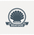 seafood icon set vector image