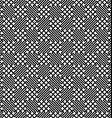 Seamless monochrome zig zag grid pattern vector image vector image