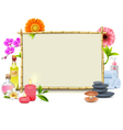 SPA Frame vector image vector image
