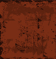 starainny rusty weathered shabby background vector image vector image
