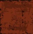 starainny rusty weathered shabby background vector image vector image