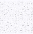water drops on car glassrain drops on clear window vector image