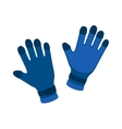 Water gloves cartoon vector image vector image