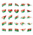 burkina faso flag vector image