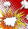Comic balloon vector image vector image
