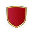 gold and red shield shape icon logo emblem