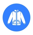 Jacket icon of for web and vector image vector image