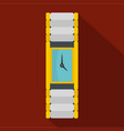 wristwatch woman icon flat style vector image vector image