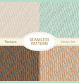 collection of seamless pattern backgrounds vector image vector image