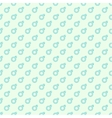 Repeating geometric background with sign of vector image vector image