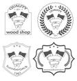 woodsman vector image vector image