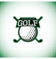 logo of golf tournament vector image