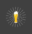 beer craft design vector image vector image