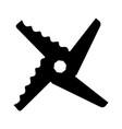 blender blade vector image vector image
