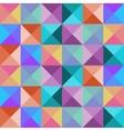 Bright seamless mosaic pattern vector image