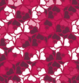Floral seamless pattern background Retro style vector image vector image