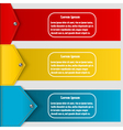Set of abstract banners to create infographics vector image