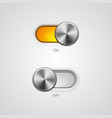 Toggle switch on and off position vector | Price: 3 Credits (USD $3)