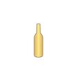alcohol bottle computer symbol vector image
