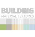 building material textures set of patterns vector image