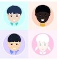 Children of Different Nationalities vector image