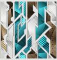 cloth geometric seamless pattern vector image