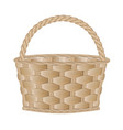 eempty basket vector image