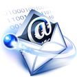 Electronic mail vector image vector image