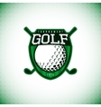 logo golf championship vector image vector image