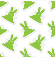 seamless - back Easter bunnies vector image vector image