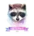 set watercolor cute vector image
