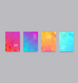 color gradient backgrounds abstract geometric vector image