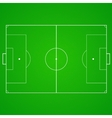 Football soccer realistic textured field vector image vector image