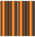 halloween stripe seamless pattern vector image vector image