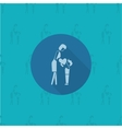 Happy Mothers Day Icon vector image