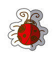 ladybug icon stock image vector image vector image